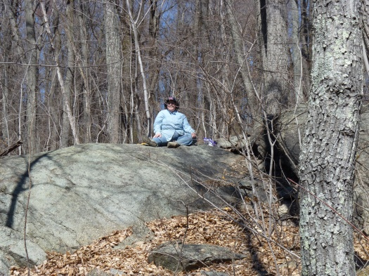 Patrise on a Rock