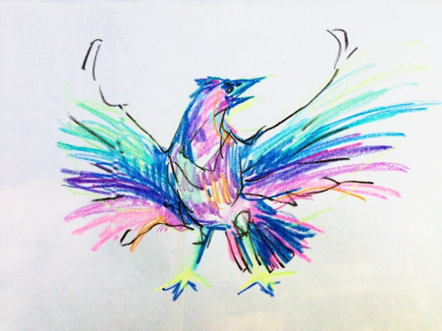 rainbowCrow