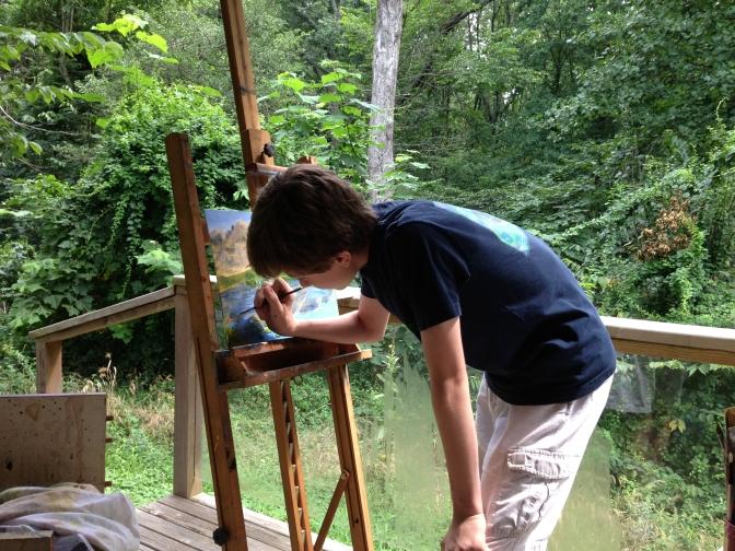Art in the Open Air Studio