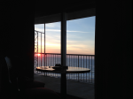 Sunrise view from Bed